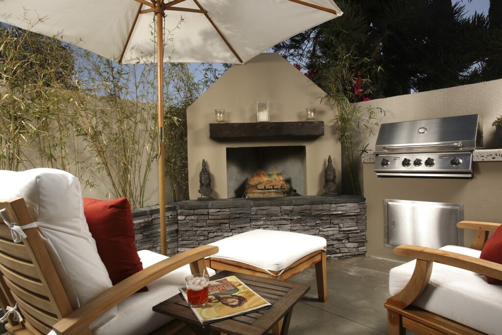 Spring home upgrades often include outdoor living space enhancements.